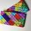 Thumbnail: Colourful bricks jersey dog snood