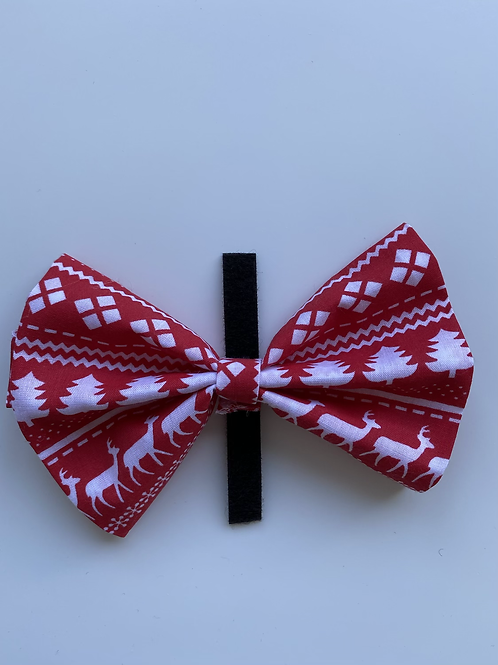 Ready for Christmas bow tie