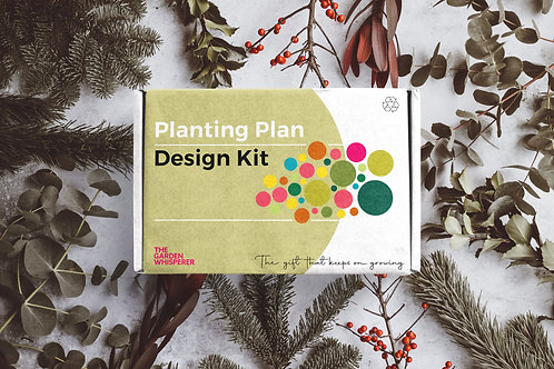 Bespoke Planting Plan Design Kit Gift Box