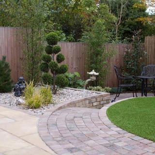 Contemporary Oriental Garden