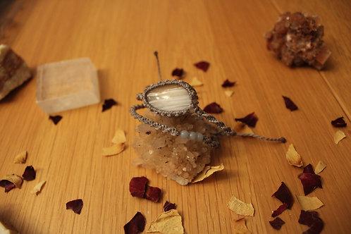 ~ Cupidon ~ Séraphinite goldshine & Labradorite