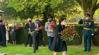 Память советских солдат почтили на Брюссельском кладбище