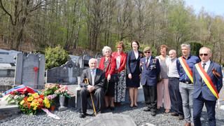 В коммуне Труа-Пон бельгиец почтил память русского сослуживца