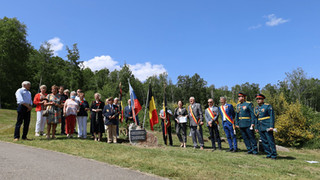 """""""Garden of Remembrance"""" was laid in the commune of Trois-Ponts"""