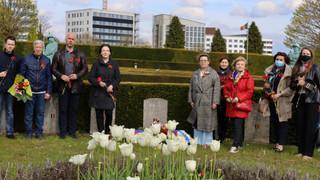 Делегация Русского Дома в Брюсселе почтила подвиги партизанки