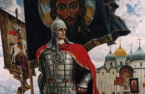 Alrxandr Nevski knigi