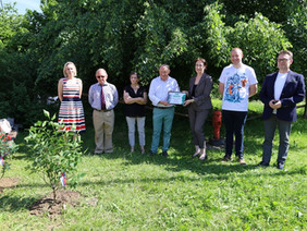 """""""Garden of Remembrance"""" was laid in the commune of Lierneux"""