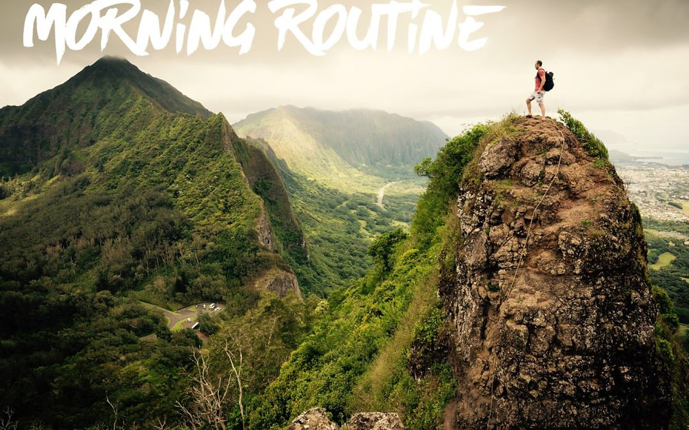 Image result for morning workout mountains