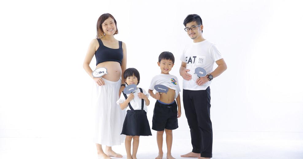家族写真 マタニティフォト