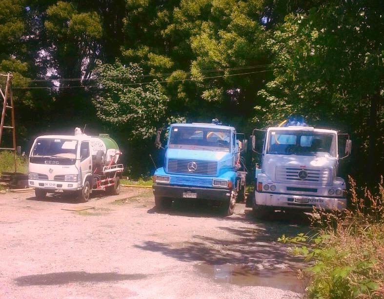 Camiones Aljibe de 3, 10 y 15 m3