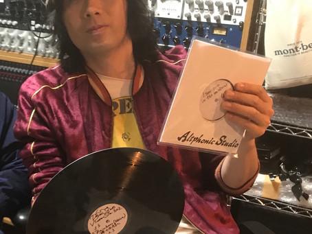 ラブサイケデリコさんのアルバムをカッティングいたしました。