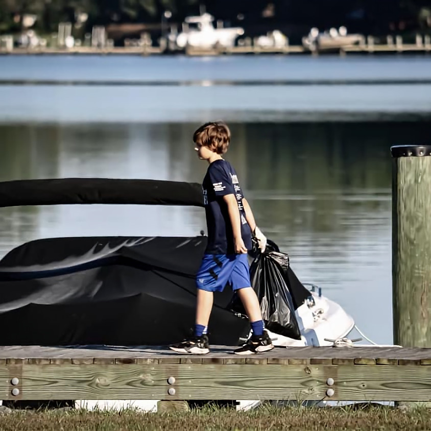 Matapeake Pier Cleanup