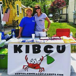KIBCU Booth @ Kent Island Day, 2015