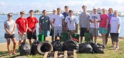 Local coastal cleanup KIBCU largest