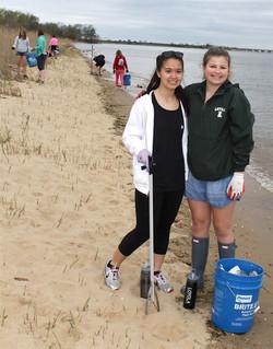 KI Beach Cleanups season off to stro