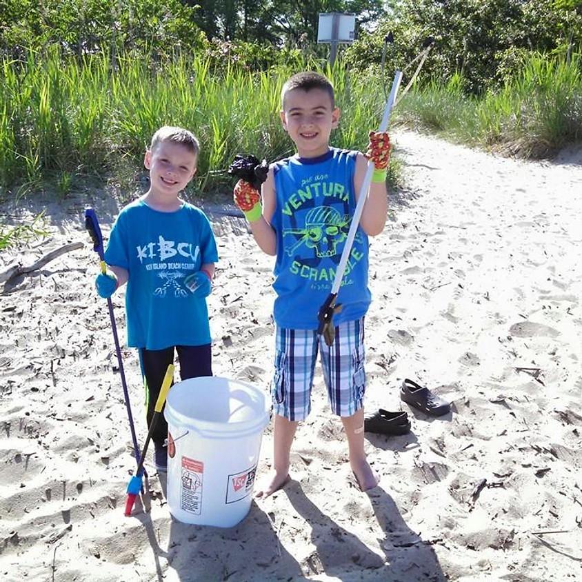 Matapeake Pier & Beach Cleanup