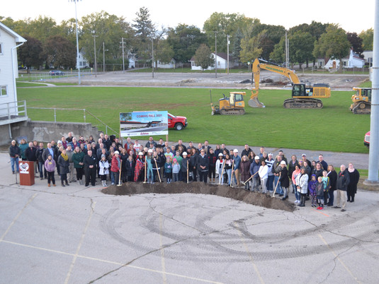 Karcher Middle School Groundbreaking