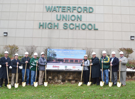 Waterford Union High School Breaks Ground