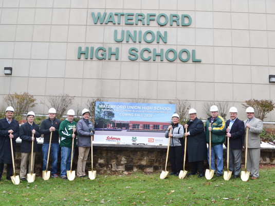 Waterford Union High School Breaks Ground