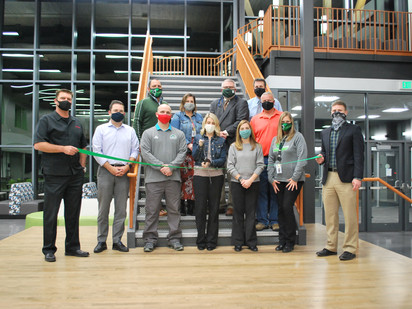 Fox River Middle School Celebrates Addition with Ribbon Cutting
