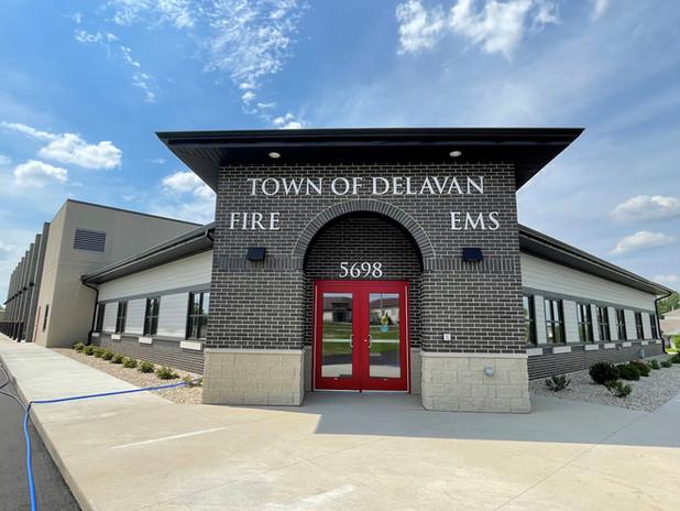 Town of Delavan Fire Station