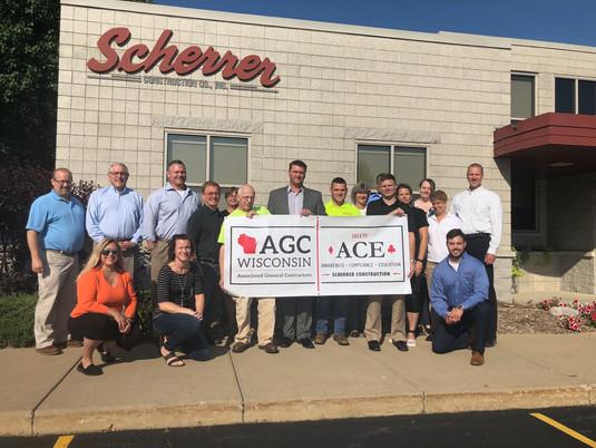 Scherrer Participates in AGC of WI Safety ACE Program
