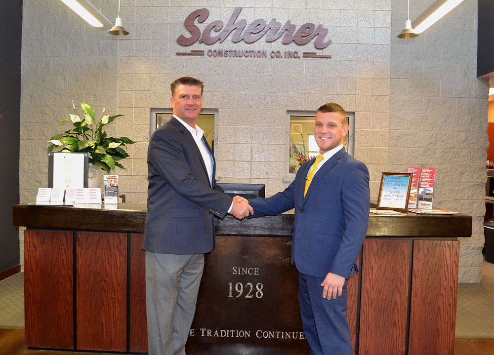 Jim Scherrer welcomes our newest Safety Director, Rich Nelson