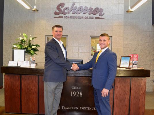 Scherrer Construction Hires New Safety Director