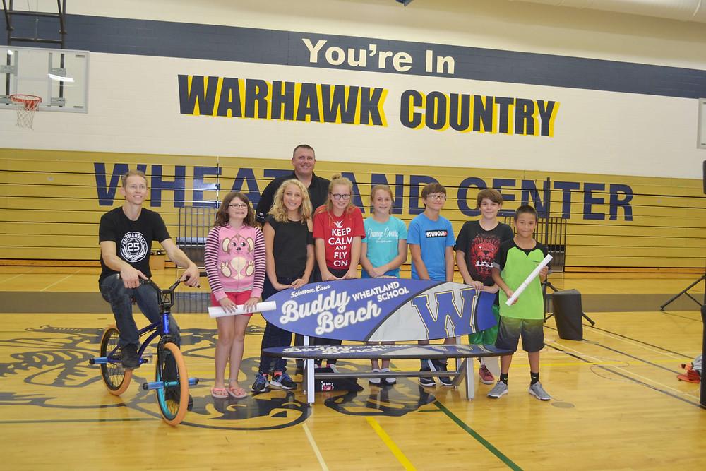 Pro BMX Rider Matt Wilhelm Delivers Powerful Anti-Bullying Message to Wheatland Students