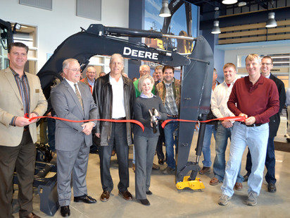 Ribbon Cutting for New Brooks Tractor Mount Pleasant Facility