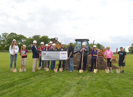 Woods School Breaks Ground for Addition