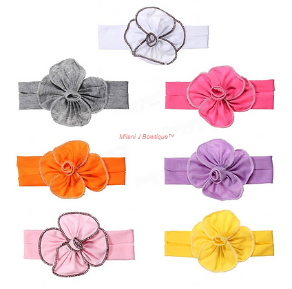 Baby Flower Head Band