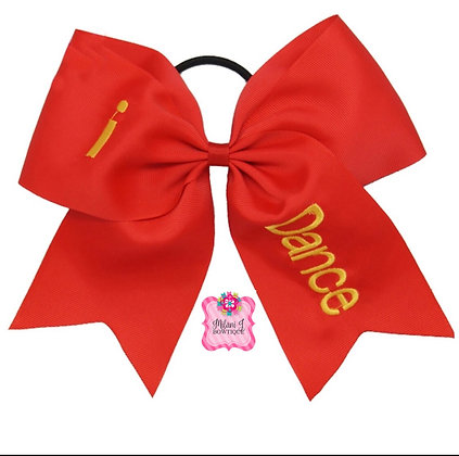 "8"" Dance Cheer Bow"