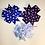 """Thumbnail: 3"""" Polka Dot Pinwheel Hair Bows"""