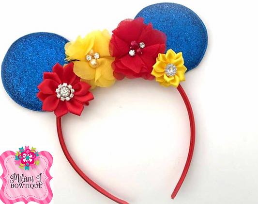Snow White Inspire Minnie Ears