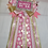 Thumbnail: Over the Top Pink & Gold Princess Baby Shower Corsage/Pin