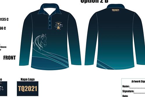 Men's Long Sleeve Polo TQ2021