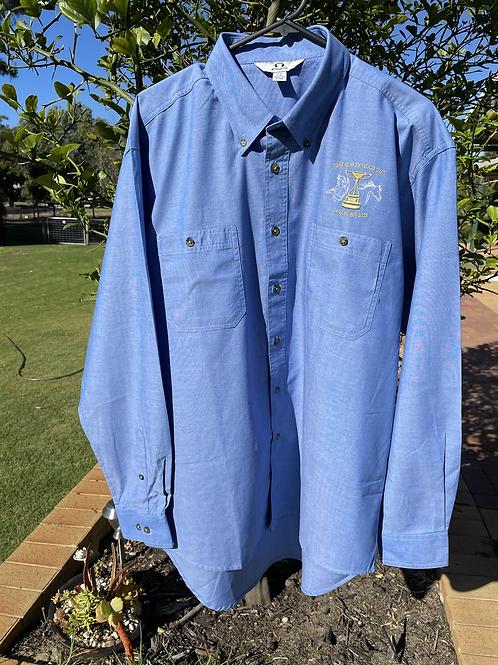 Mens Chambray Cotton L/S Shirt