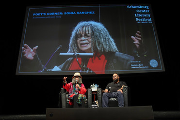 Poet and Icon Sonia Sanchez and Kevin Yo