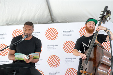 Live reading to melodies from the Powell