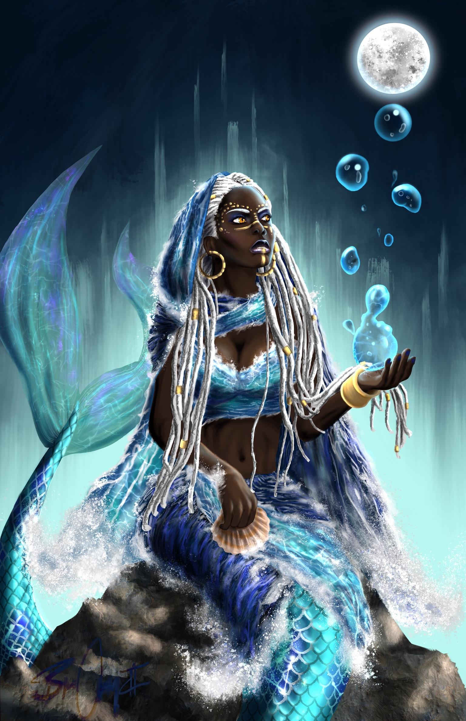 Yemoja Orisha Bc2art