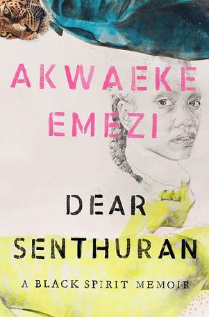 """Dear Senthuran"" book cover"