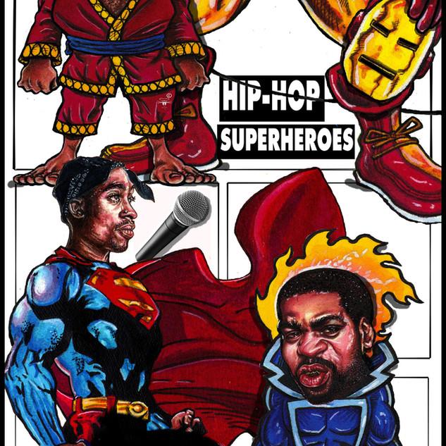 Andre LeRoy Davis Hip Hop & Comics Banne