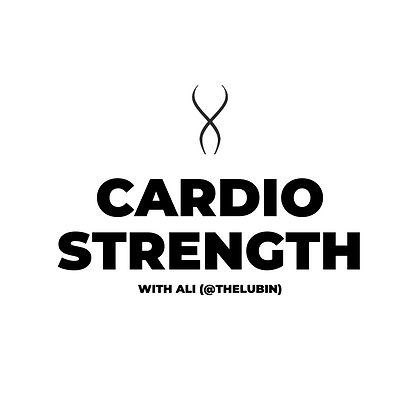 Cardio Strength with Ali (August 31)