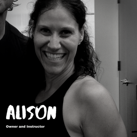 We asked Alison...  Q: One week without a shower or one week without a workout? A: One week without a workout.   Q: Eat the same food for every meal for one month or eat each of your meals blended for a week? A: Same food for every meal for a month.  Q: Pizza or pasta? A: Pasta!  Q: Nike or Adidas? A: Nike.  Q: Pop or oldies? A: Oldies remixed :)  Q: Chicken or beef? A: Beef  Q: Hills or sprints? A: Sprints  Q: Burpees or deadlifts? A: Deadlifts  Q: Biggest fitness inspiration? A: My mom  Q: Plank shoulder taps or shoulder press? A: Shoulder press  Q: Cauliflower or broccoli? A: Both!