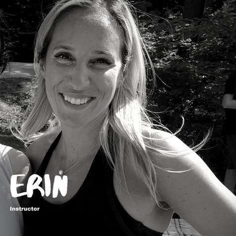 We asked Erin...  Q: One week without a shower or one week without a workout? A: One week without a workout. Smelly people are the worst!  Q: Eat the same food for every meal for one month or eat each of your meals blended for a week? A: Same food for every meal for a month. I basically already do this!  Q: Pizza or pasta? A: Always pasta.  Q: Nike or Adidas? A: Adidas for fun, Saucony only for running.  Q: Pop or oldies? A: Oldies!  Q: Back and biceps or legs and glutes? A: Back and biceps! My legs need a break!  Q: Biggest fitness inspiration? A: Any tri-athlete.  Q: Cauliflower or broccoli? A: Neither.