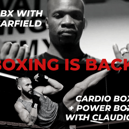 Boxing is Back.