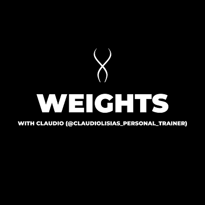 Weights (or Long Bands) with Claudio (May 27)
