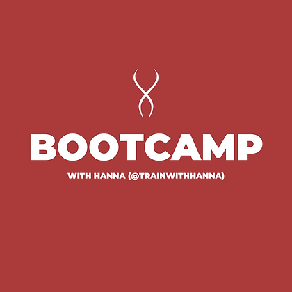 Bootcamp Class with Hanna (April 25)
