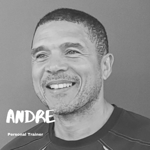 We asked Andre...  Q: One week without a workout or one week without a shower? A: Sorry ladies, no shower.  Q: Eat the same food for every meal for a month or eat each of your meals blended for a week? A: Same meal for a month. Crazy.  Q: Hip hop or rap? A: Doesn't matter, as long it has a rhythm to move to.   Q: Chicken or beef? A: Beef.  Q: Hills or sprints? A: Hills, they make you stronger!  Q: Burpees or deadlifts? A: Deadlifts, any day.  Q: Back and biceps or legs and glutes? A: Legs & glutes on Monday and Thursday - and back & biceps on Tuesday and Friday!   Q: Biggest fitness inspiration? A: My father and my son